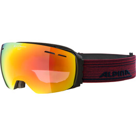 Alpina Granby QVMM Goggles black matt red spherical
